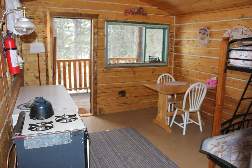 Inside Cove Cabin Front